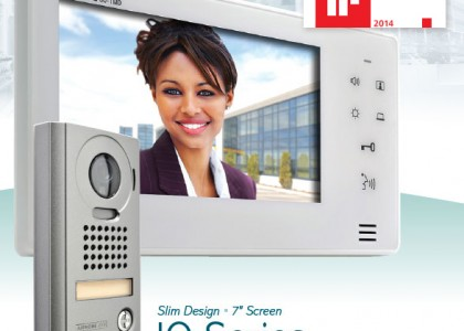 JO Series: 7-Inch Touch Button Video Intercom