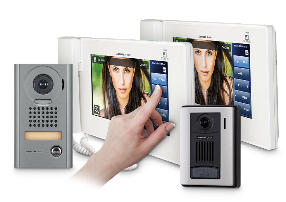 JP Series Video Intercom With 7 Inch Touchscreen